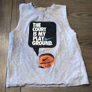 Nike Sz 3 boys baller basketball tank Vguc